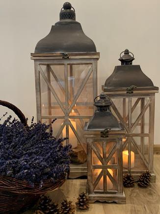 DREVENÉ LAMPÁŠE